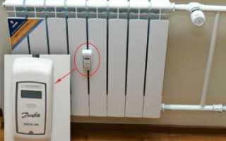 Электронный распределитель затрат на отопление