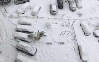 Правила уборки снега во дворах: Постановление