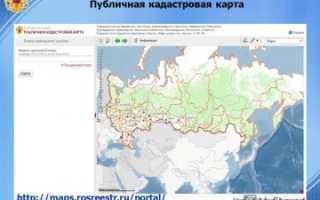 Публичная кадастровая карта Ижевска
