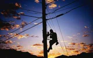 Самовольное подключение к электросетям