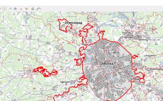 Публичная кадастровая карта Астрахани