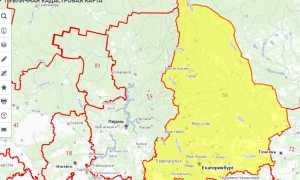 Публичная кадастровая карта Свердловской области