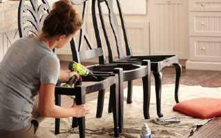 Новые стулья из старых