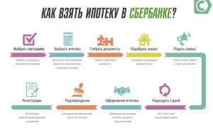 Покупка квартиры в ипотеку: пошаговая инструкция Сбербанк