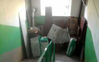 Как заставить соседей убрать вещи из коридора и освободить проход